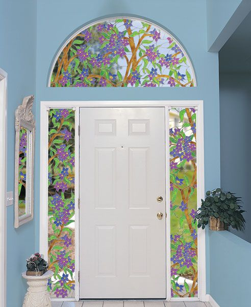 Transom Windows A Useful Design Element: 17 Best Images About Stained Glass Arches On Pinterest