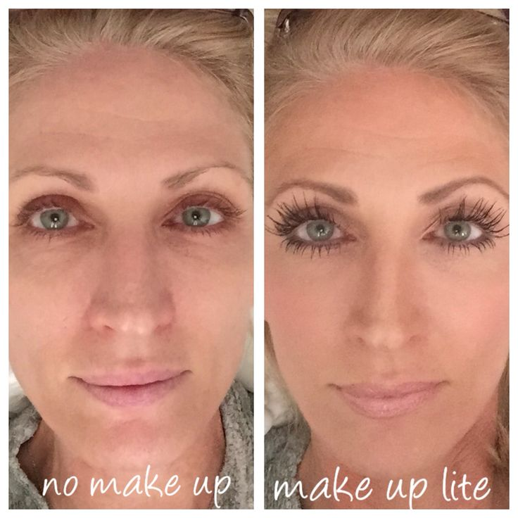 Make up lite using my Benefit BB cream, and Smashbox photo finish primer and of course Latisse.