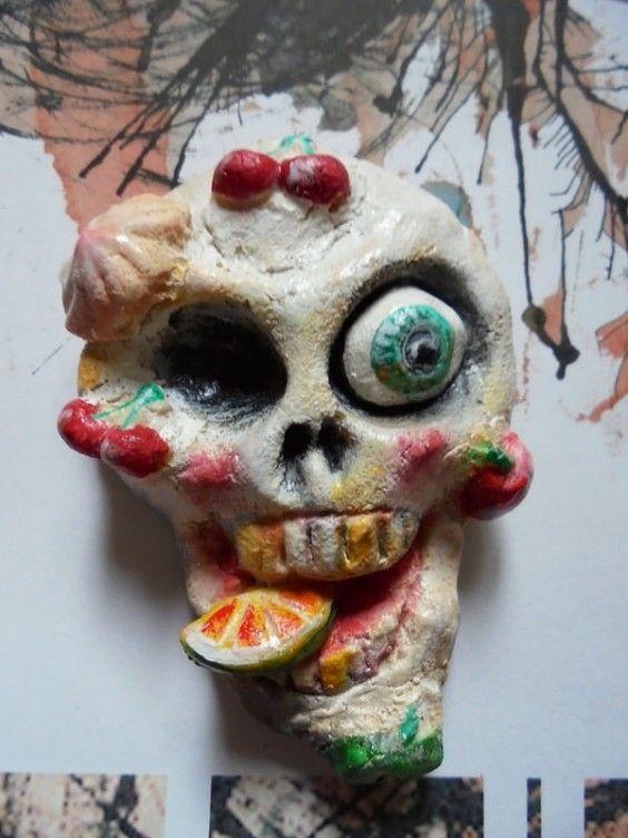 #skulls#salzteig