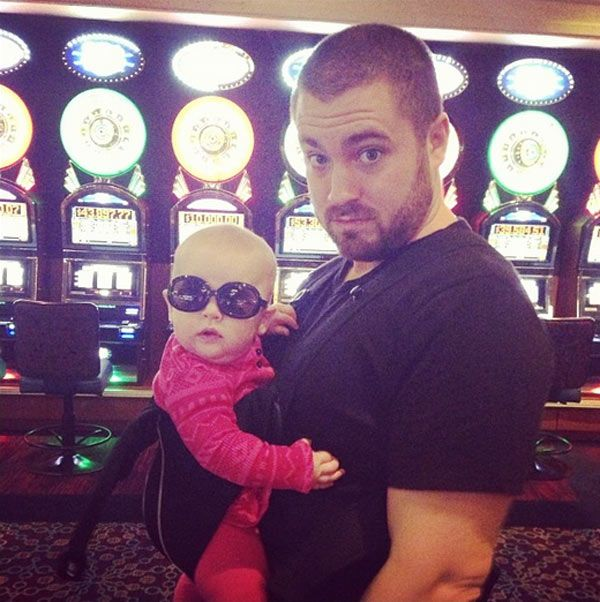 Hillary Scott's caughter Eisele channels Carlos from 'The Hangover' with dad Chris Tyrell