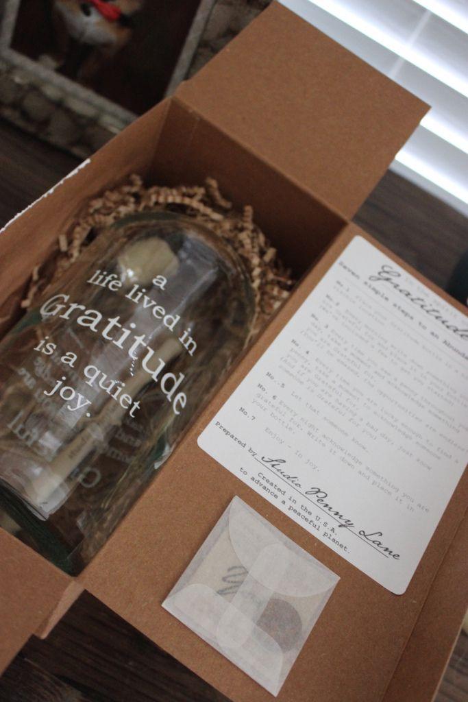 Studio Penny Lane – Gratitude Jar