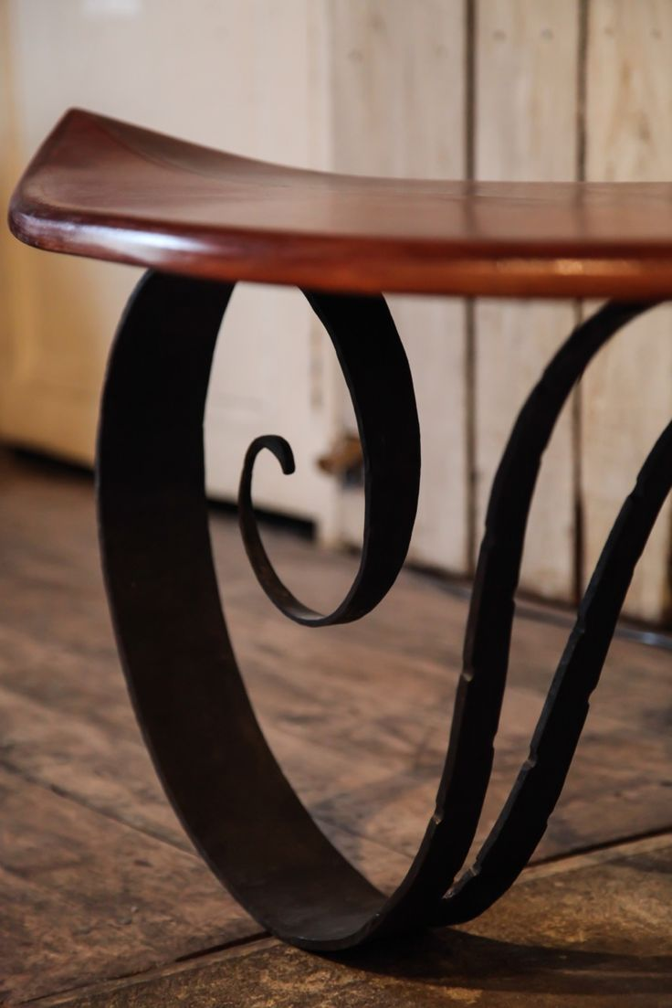 1000 images about table basse surf on pinterest tables for Table basse fer forge bois