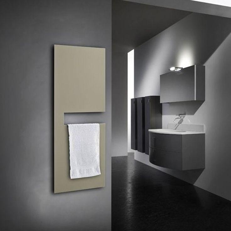 Termoarredo design elettrico per bagno da arredo e moderno. Acciaio Verniciato Aquarius.