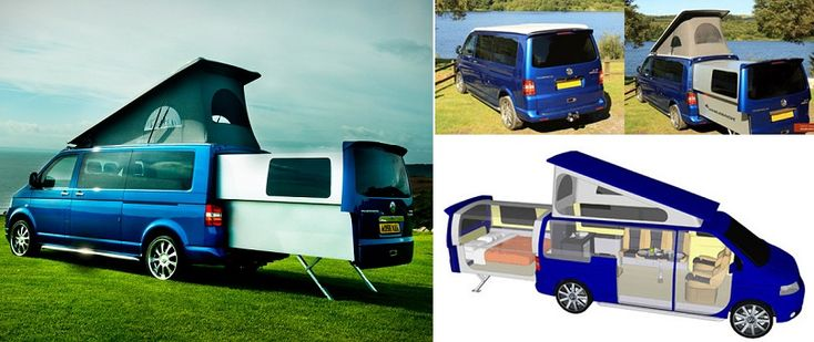 The Doubleback VW Transporter Campervan - iCreatived