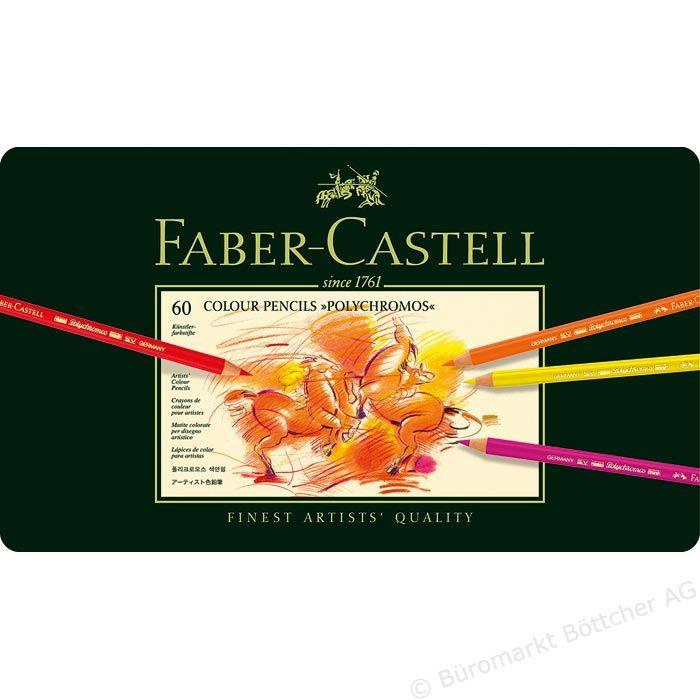 Faber-Castell Polychromos 110060 Buntstifte 60er