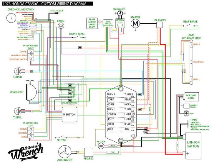Yamaha V50 Motorcycle Wiring Diagram And Wiring Diagram
