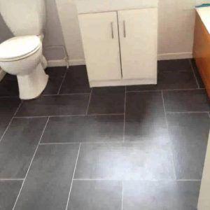 Vinyl Floor Covering For Bathrooms