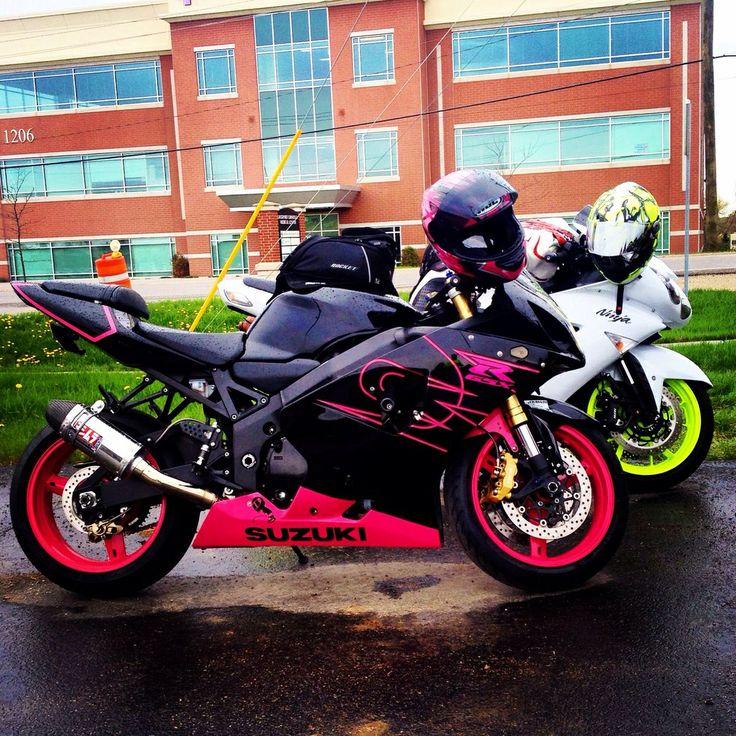 Pink Kawasaki Ninja