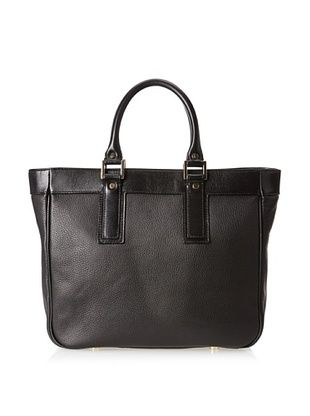 57% OFF LaLucca Women's Isabelle Tote Bag, Black, One Size