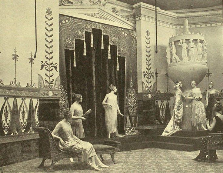 Ladies better dress department at marshall fields dept for 1920s window styles