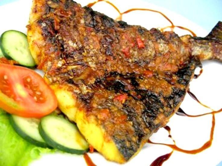 Ikan bakar (fish)