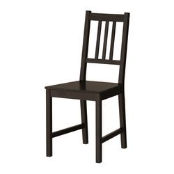 These chairs are super-affordable at $25 each. Maybe six, and then two arm chairs for either end.  STEFAN Chair - IKEA