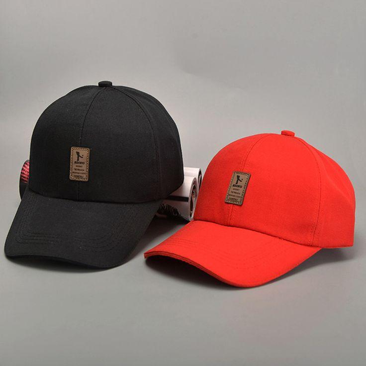 LANHUIFD Baseball Cap Man Summer Cap Lady Outdoor Sun Hat Adjustable Cap Casual Leisure Solid Color Fashion Snapback Fall Hat #FallFashion