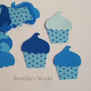 Cupcakes for scrapbooking