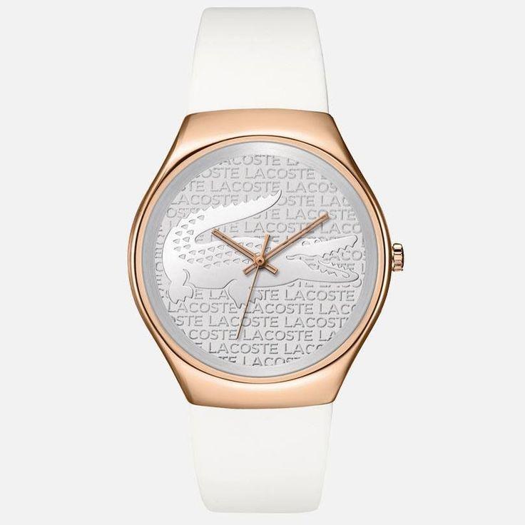 Lacoste v bielom. Ponuka dámskych hodiniek http://www.1010.sk/kategoria/hodinky-lacoste/damske-hodinky-lacoste/