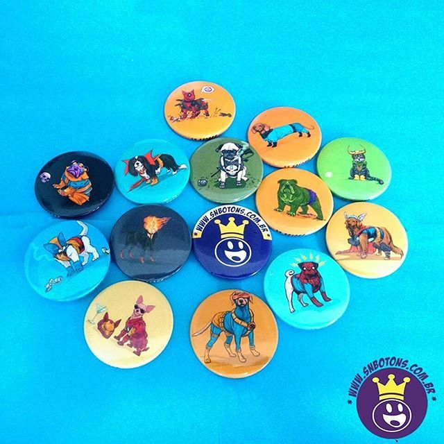 Bichos de estimação Marvel as coisas mais linda que vi 😍😍 Agora os Botons nos mande Whats 💬11-98221-3771 quem quer levanta a Mão. 🙌  #SNBotons #bottons #Botons #badges #amobottons #ilovebottons #dog #marvelcomics #geek #Livros #Livro #nerd #otakus #cosplay #Cosplayer #cat #cachorrinho #gatos #animaisfofinhos #homemaranha #spiderman #ironman #homemdeferro #thepunisher #justiceiro #loki #wolverine #drestranho #hulk #deadpool