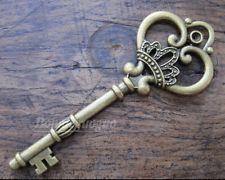 Royal silver key