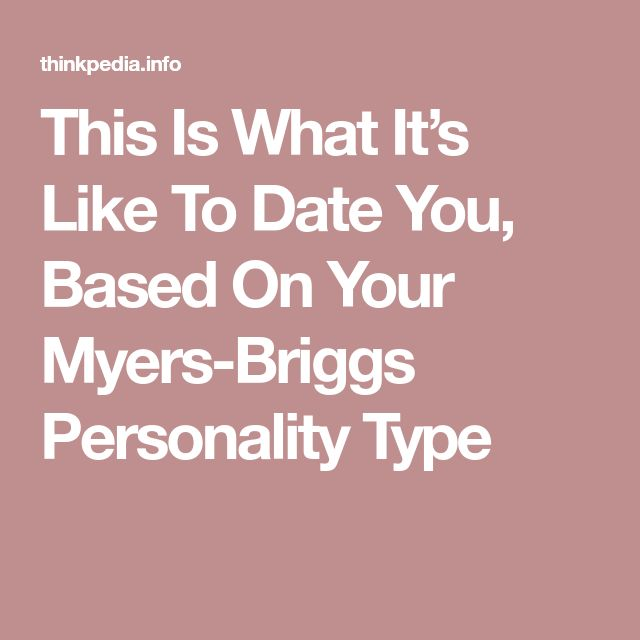 dating site based on personality type Dating sites based on personality types dating is a stage of romantic  relationships in humans whereby two people meet socially with the aim of each  assessing.