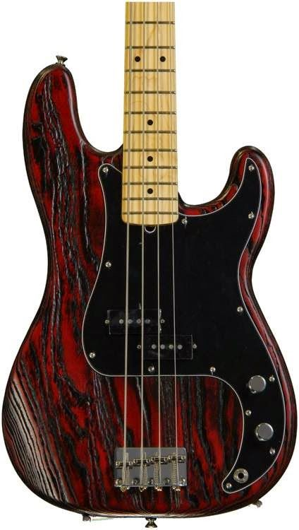 Day 465 - A beautiful Fender. The wood finish and colour of this bass is amazing.