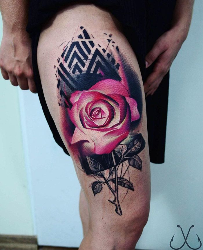 45 Best Images About Thigh Tattoos On Pinterest: 407 Best Images About On Pinterest