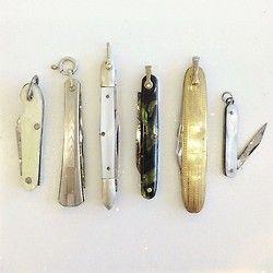 • pocket knife collection