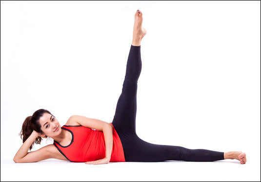 The Side Kick   14 Exercises You Can Do While Lying Down