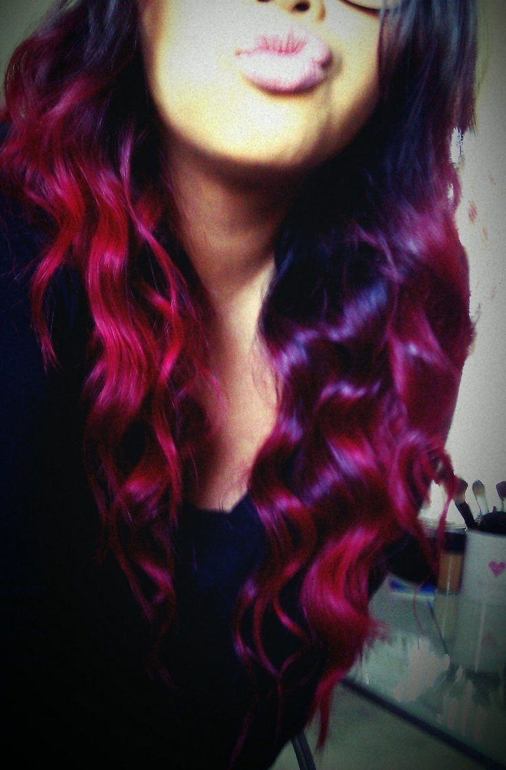 Red Ombre  getting rea...
