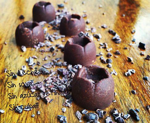 Receta de chocolate sin leche, sin cocción y sin culpa ;) l Loving Life