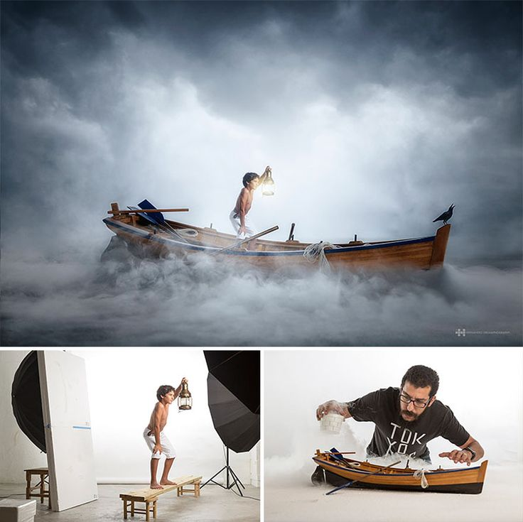 Fotografias incríveis usando brinquedos e muita imaginação