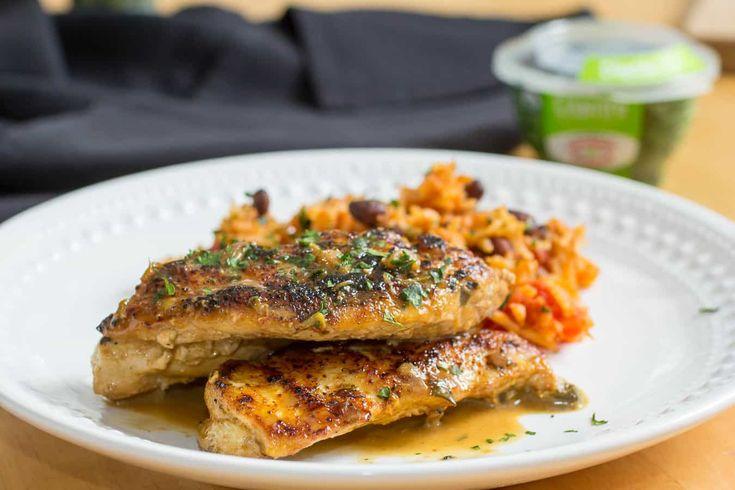 CHICKEN AND CILANTRO CREAM SAUCE recipe - Foodista.com