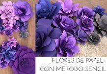 Mira Cómo Hacer Estas IMPRESIONANTES Flores De Papel Para Decorar Lo Que Desees ¡Me Derrito De Lo Bello!