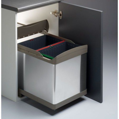 Cubo de basura extraible para armario de cocina