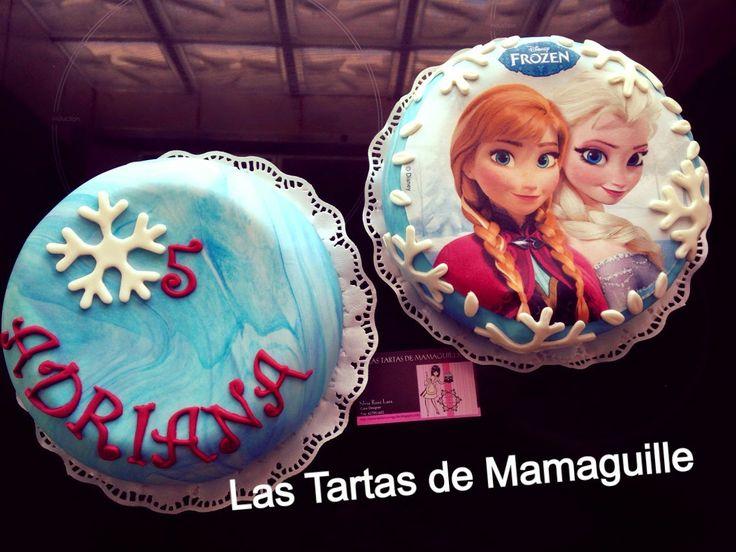 Las tartas de Mamaguille: Tarta fondant Frozen