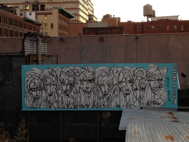 #streetart from the Highline, Sept 2012
