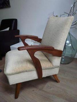 ≥ retro, vintage, fauteuil jaren 50/60 - Fauteuils - Marktplaats.nl