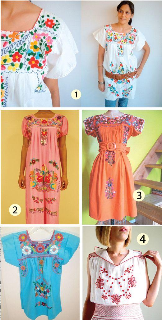 Mexican dresses!