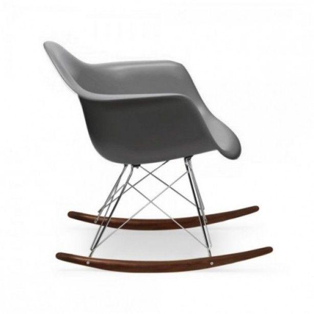 Unieke Charles Eames RAR Schommelstoel.