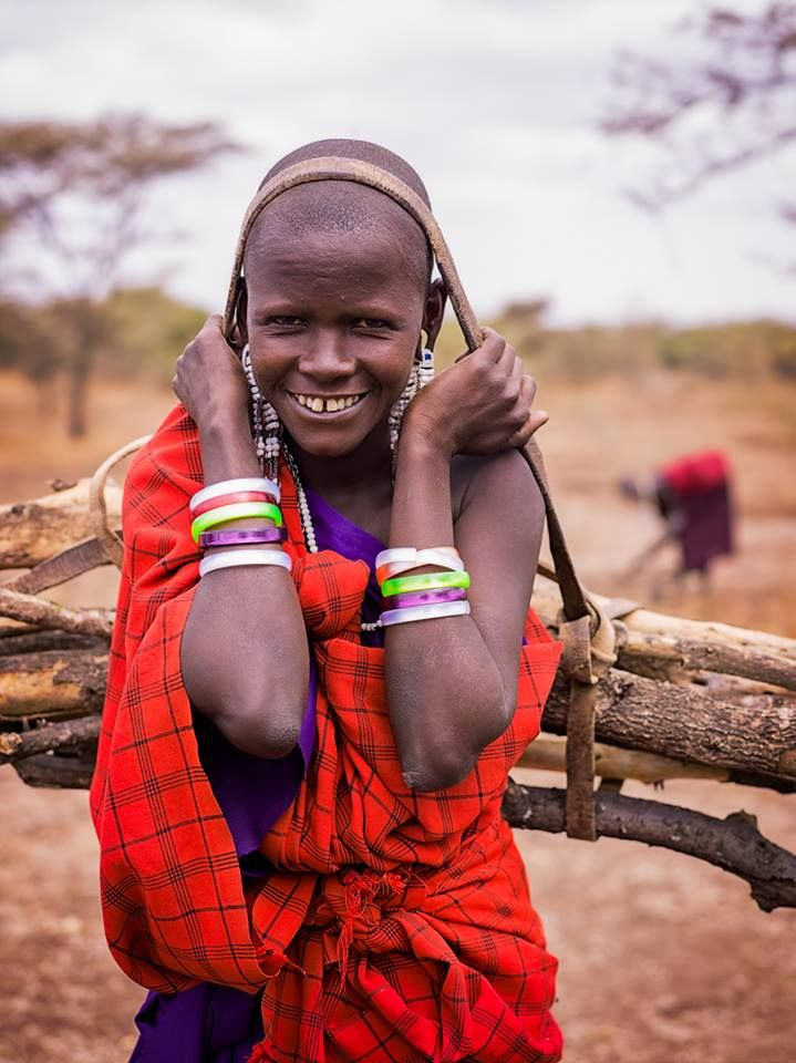 """""""The Beauty of the Maasai"""" Tanzania, Africa by Colby Brown"""
