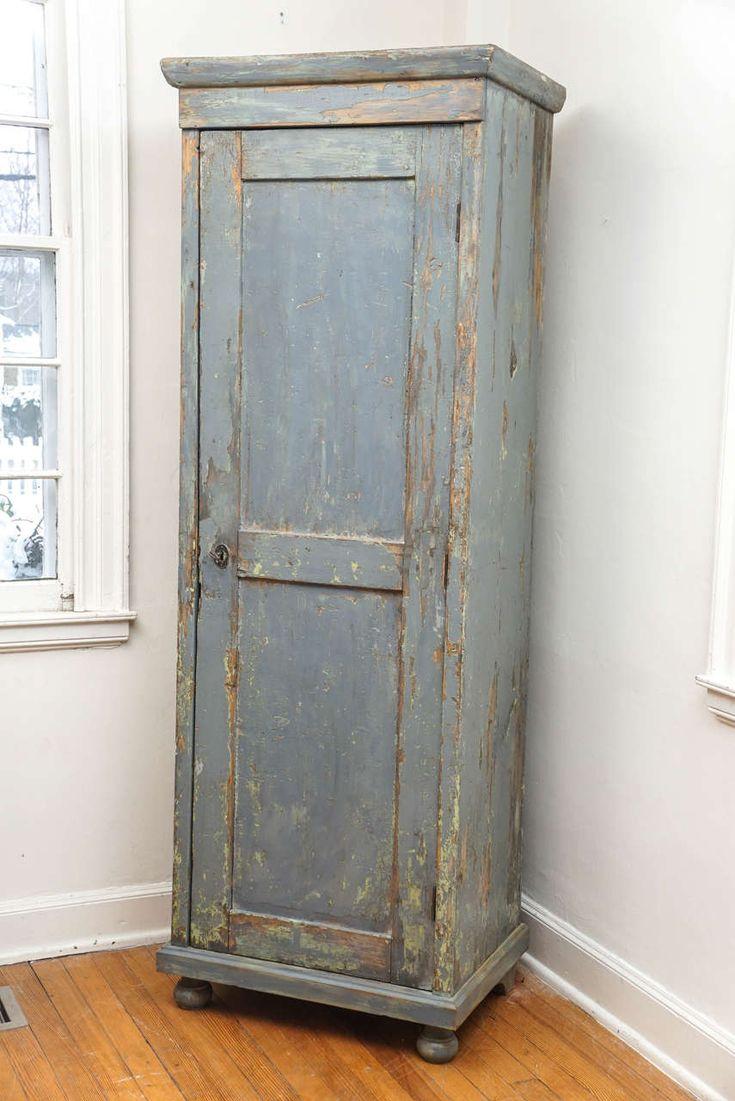 One-Door Chimney Cupboard Cupboard - Antique Chimney Cupboard Antique Furniture