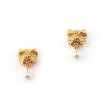 Westie Earrings