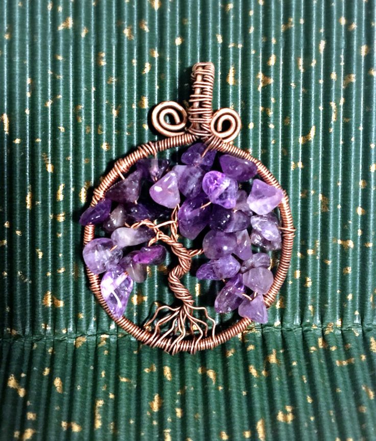 A personal favorite from my Etsy shop https://www.etsy.com/ca/listing/556742198/tree-of-life-pendant-raw-amethyst