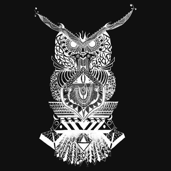 White Owl Buho Blanco
