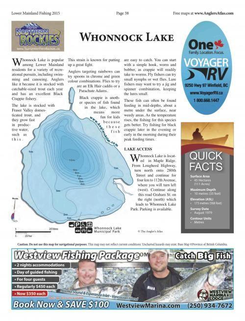 Photo thumbnail: Lake of the Day July 10: Whonnock Lake, BC
