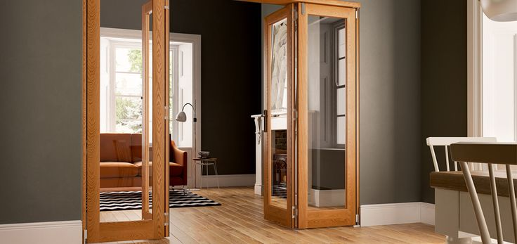 Internal Fold Flat Doors