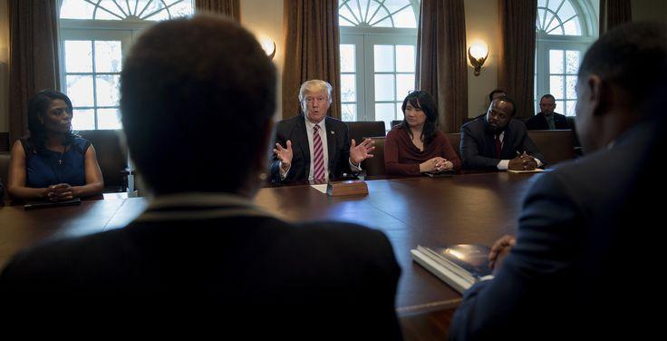 Congressional Black Caucus Rejects Donald Trump Meeting