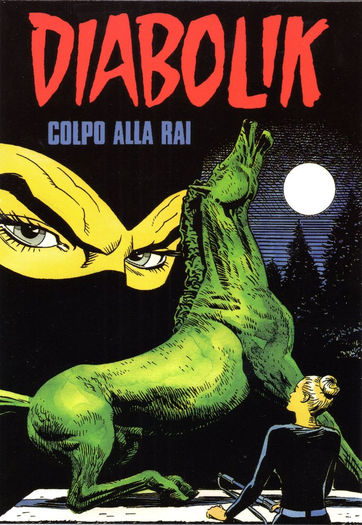 """PROMOCARD n. 2081 2000 - DIABOLIK 078: """"Colpo alla RAI"""""""