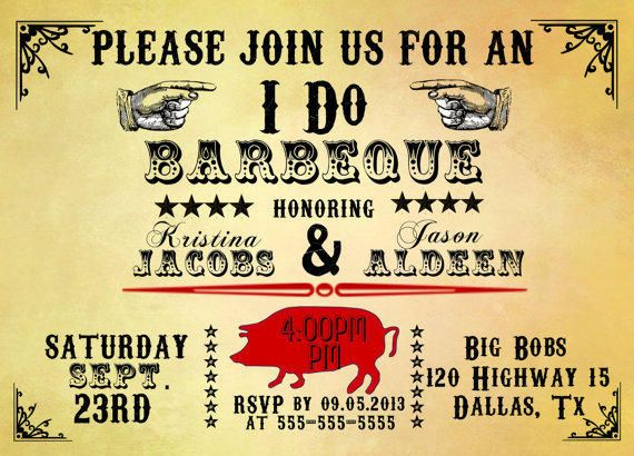33 best i do bbq invitations images on pinterest barbecue printable party invitation barbeque i do bbq diy rustic wedding stopboris Choice Image