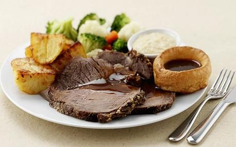 secondly we chose a roast beef dish.