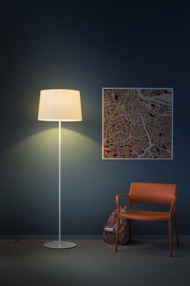 L001ST/BA podłogowa (Biała podstawa) - Pedrali | Designerskie Lampy & Oświetlenie LED