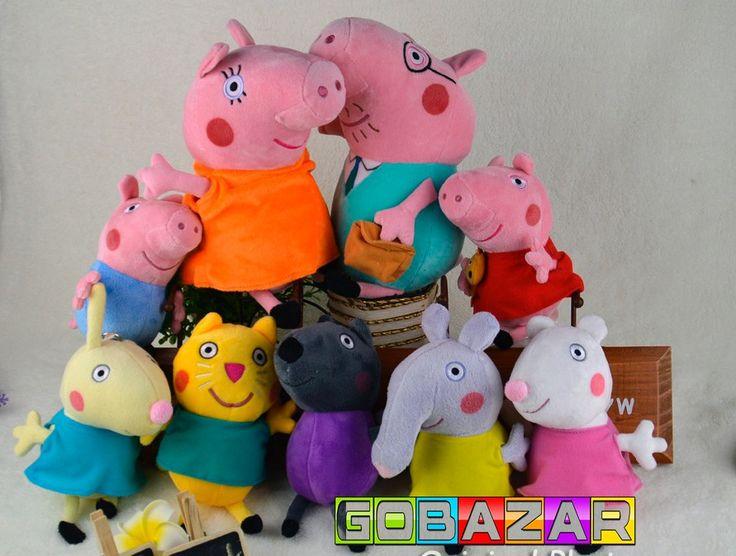 4200 PEPPA PIG CONJUNTO COM 5 BONECOS